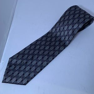 Preowned Men's Kenneth Cole Tie - Gray - Stripes
